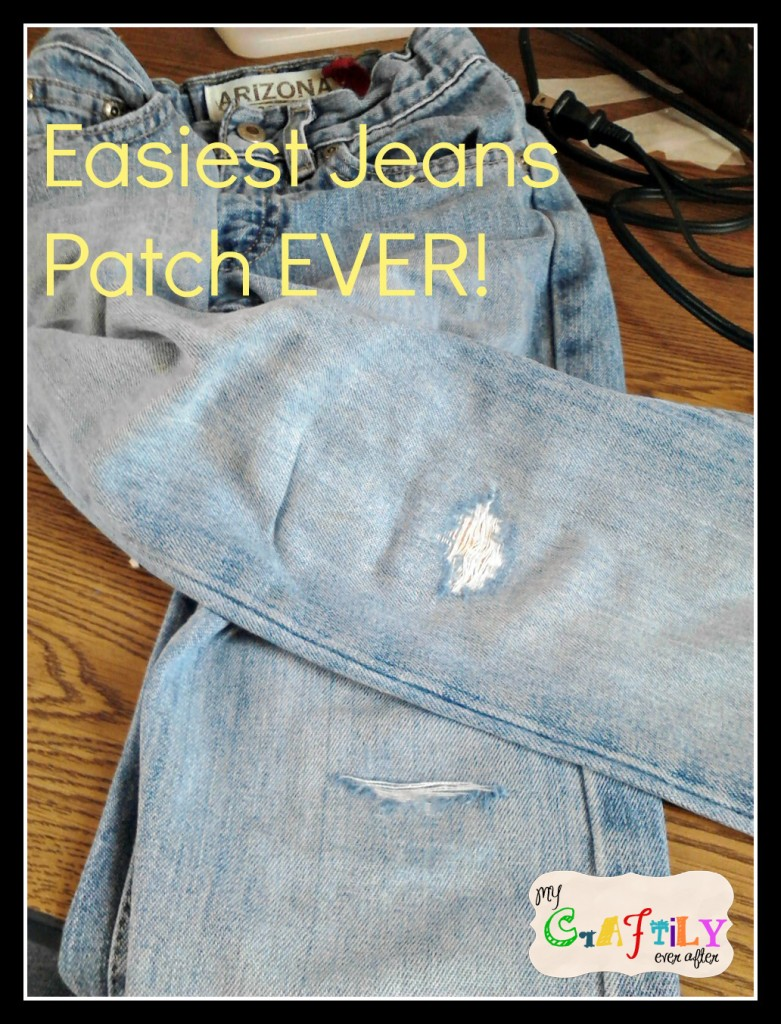 Patch Jeans Cover