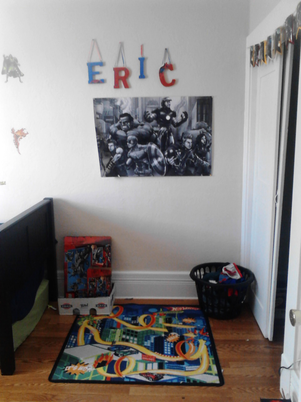 Boys Bedroom Avenger S Design My Craftily Ever After