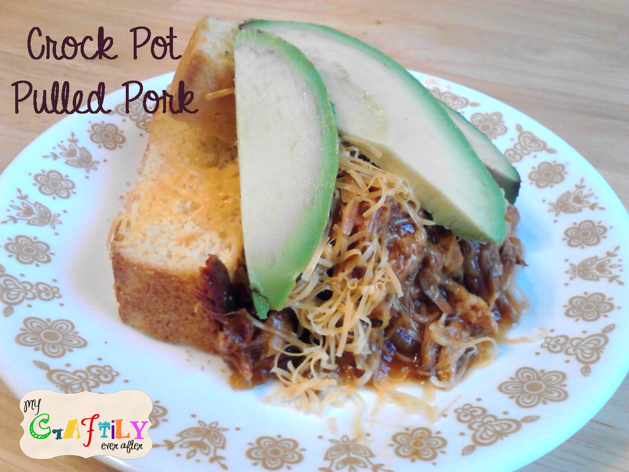 Crock Pot Pulled Pork - My Craftily Ever After