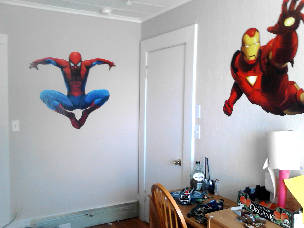 Wonderful Spiderman Wall Stickers Bedroom 3 Huge Spiderman Wall .