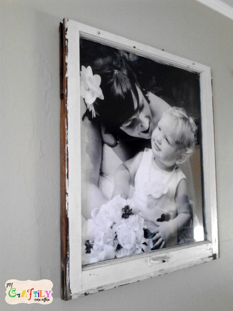 wood window picture frame