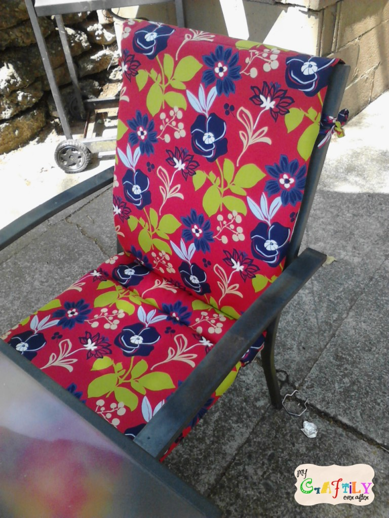 patio chairs with new cushions from home depot