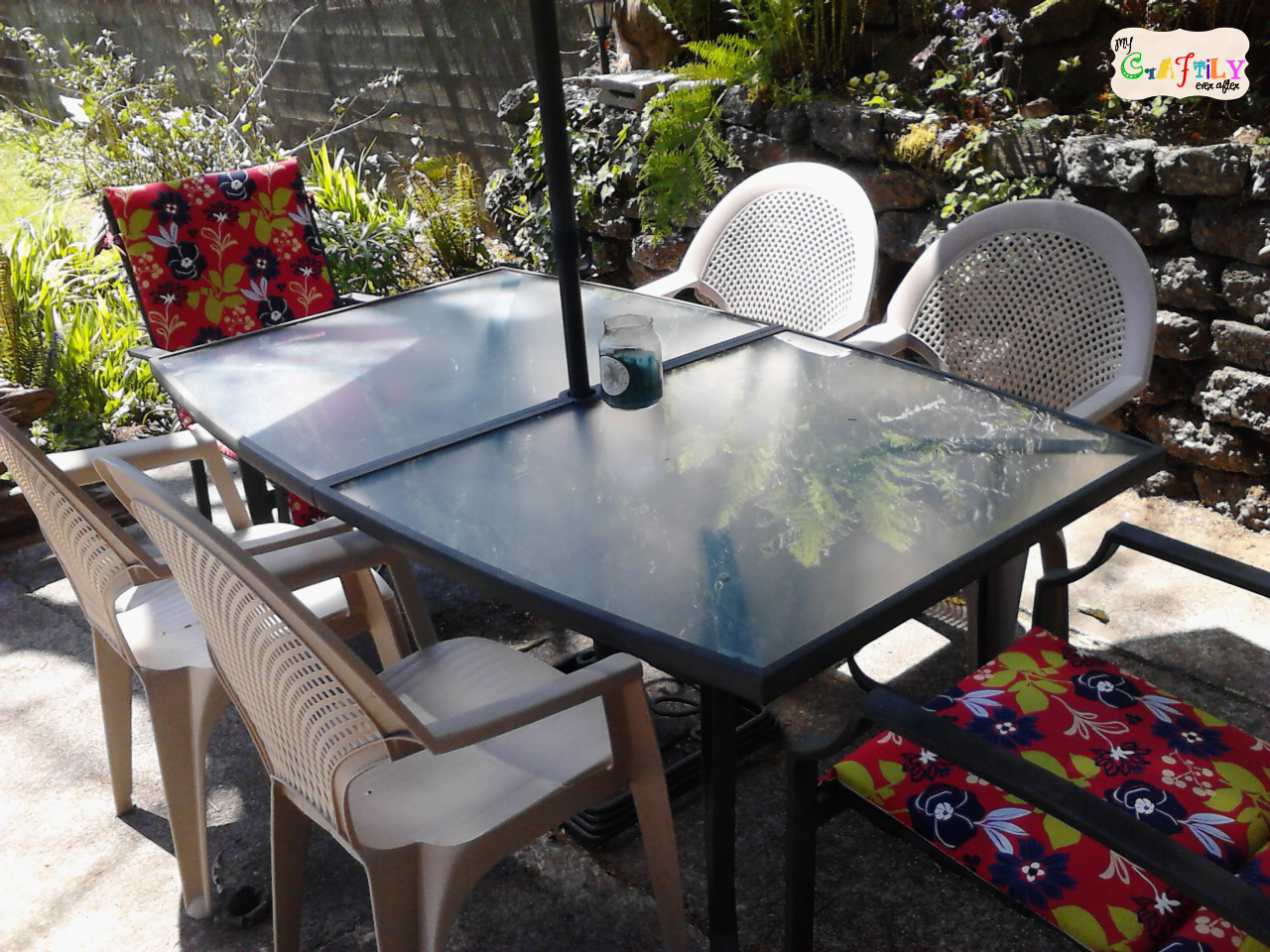 Upgraded Patio Set From Craigslist ...