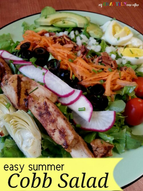easy summer cobb salad