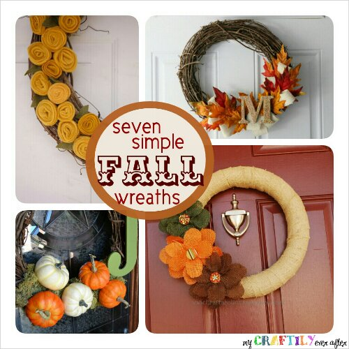 Seven Simple Fall Wreaths