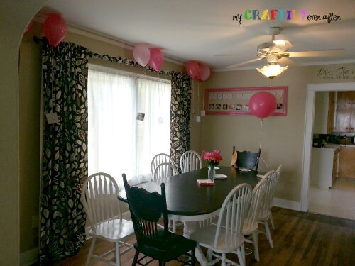 girls birthday party with instagram photos