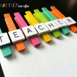 Create colorful clothespin magnets in just three steps for an easy teacher appreciation gift