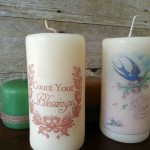 Transferring an image to a candle has never been simpler!  Using things you probably already have around your house create a custom candle perfect for any occasion.  Learn how at My Craftily Ever After