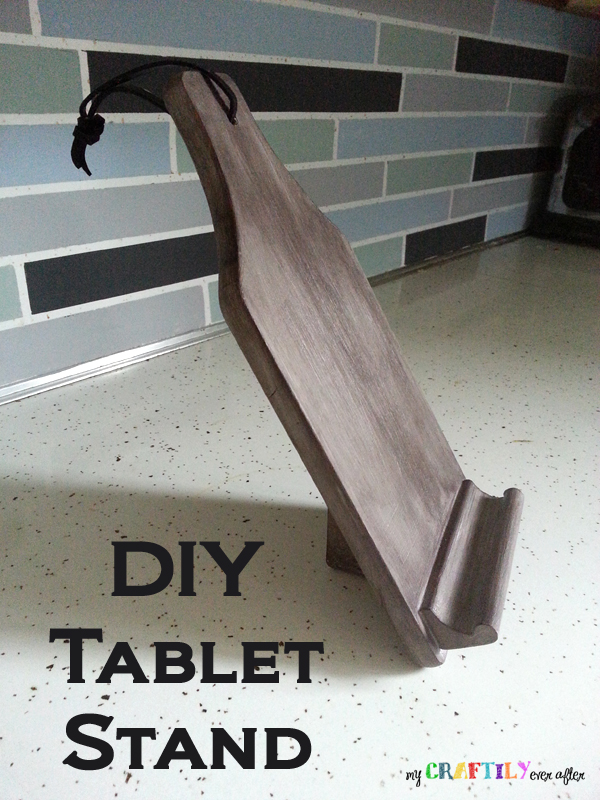 DIY Tablet/Phone Stand - My Craftily Ever After