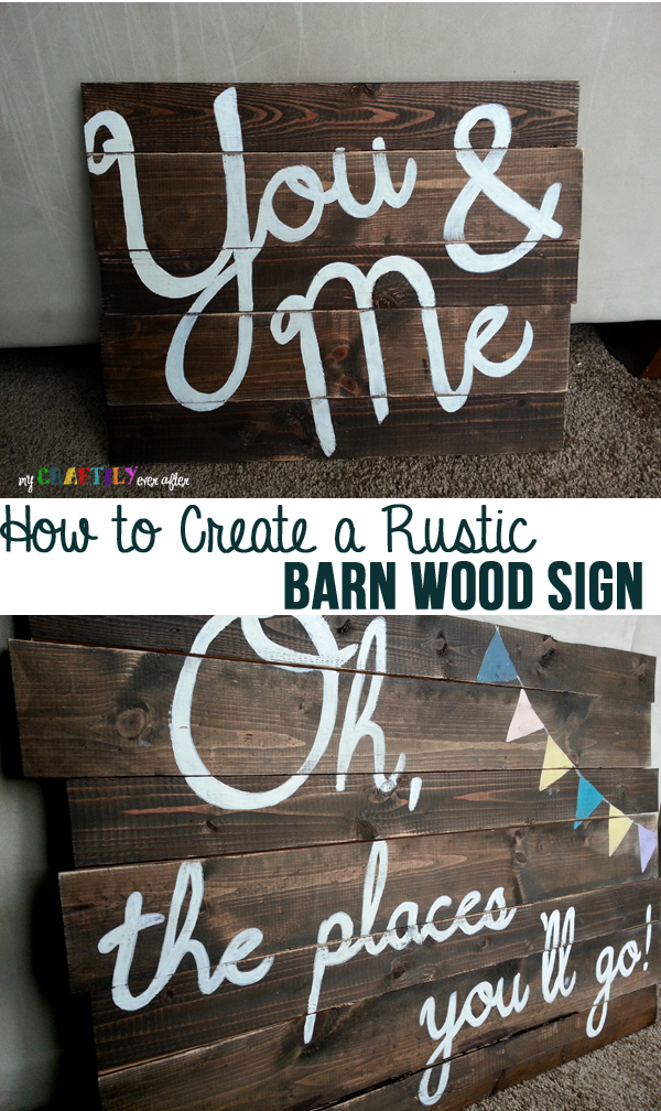 Paint Stick Pallet Sign My Craftily Ever After