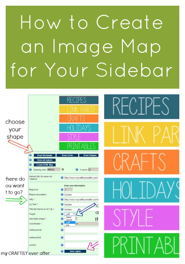 How to Create an Image Map for Your Sidebar