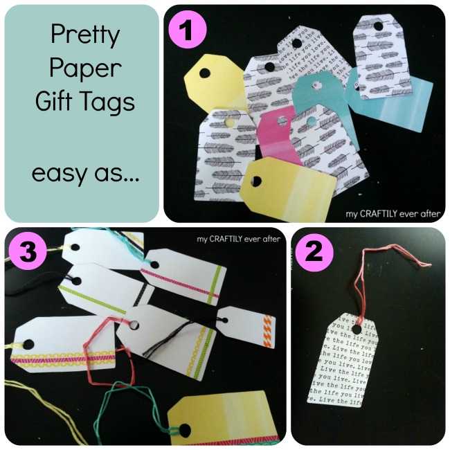 pretty paper gift tags