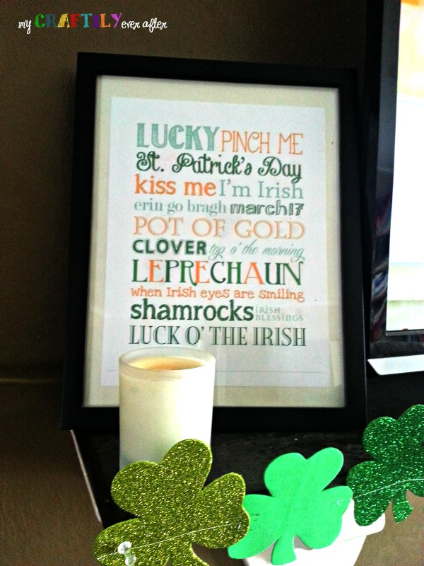st patty's printable