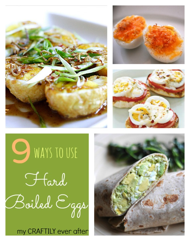 9 Ways to Use Hard Boiled Eggs!