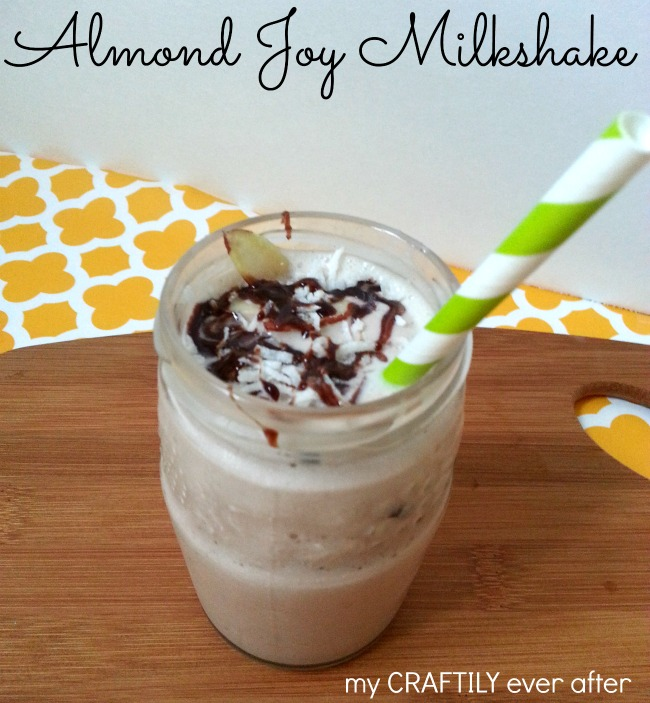 almond joy milkshake
