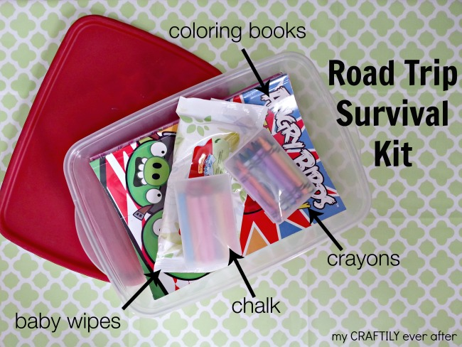 what to pack in a road trip survival kit
