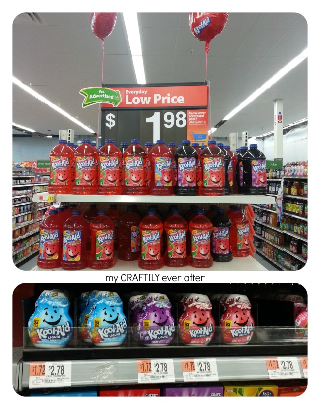 finding the right Kool-Aid products for Jungle Juice at Walmart
