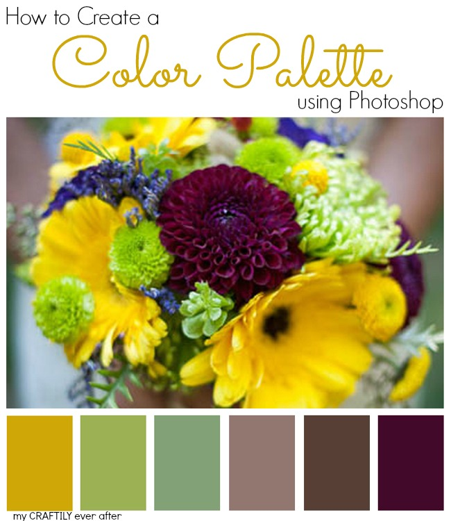 How to Create a Wedding Bouquet Color Palette