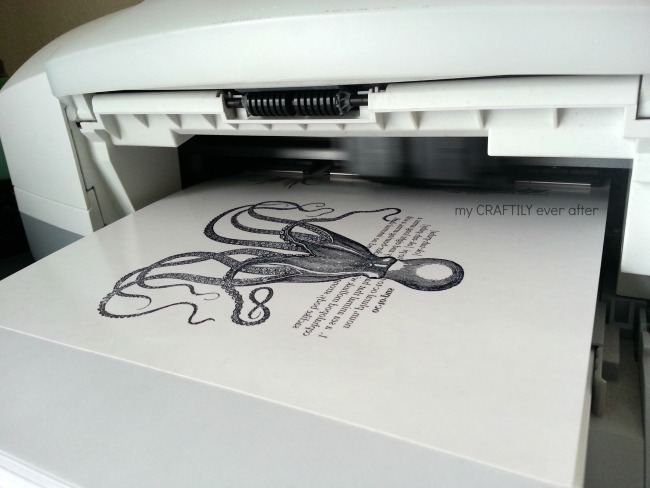 printing your design on tattoo paper