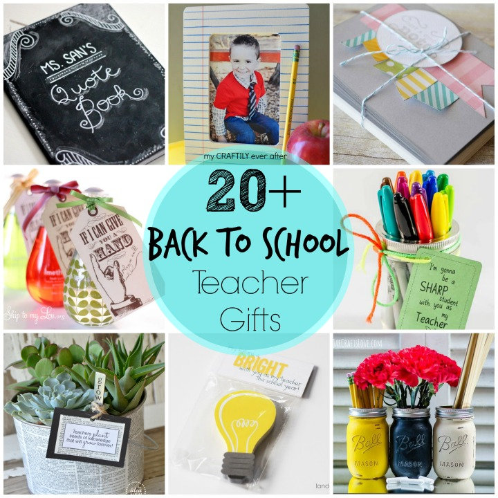 20+ back to school teacher gifts