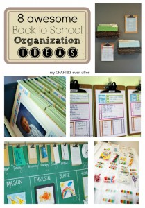 8 awesome back to school organization ideas