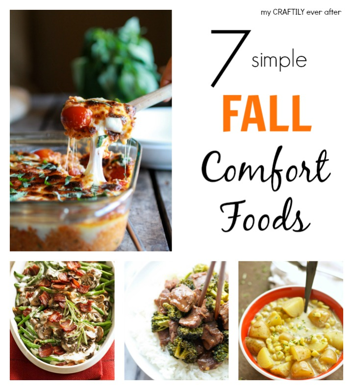 7 simple fall comfort foods