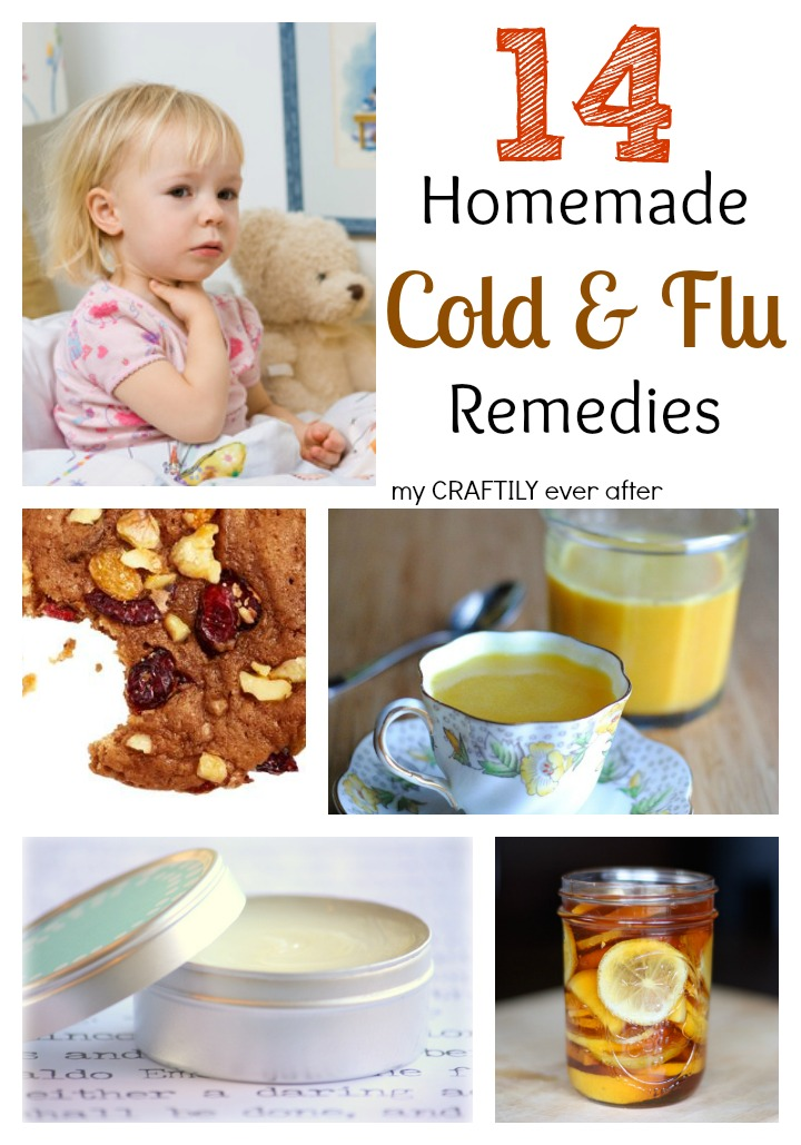 14 homemade cold and flu remedies