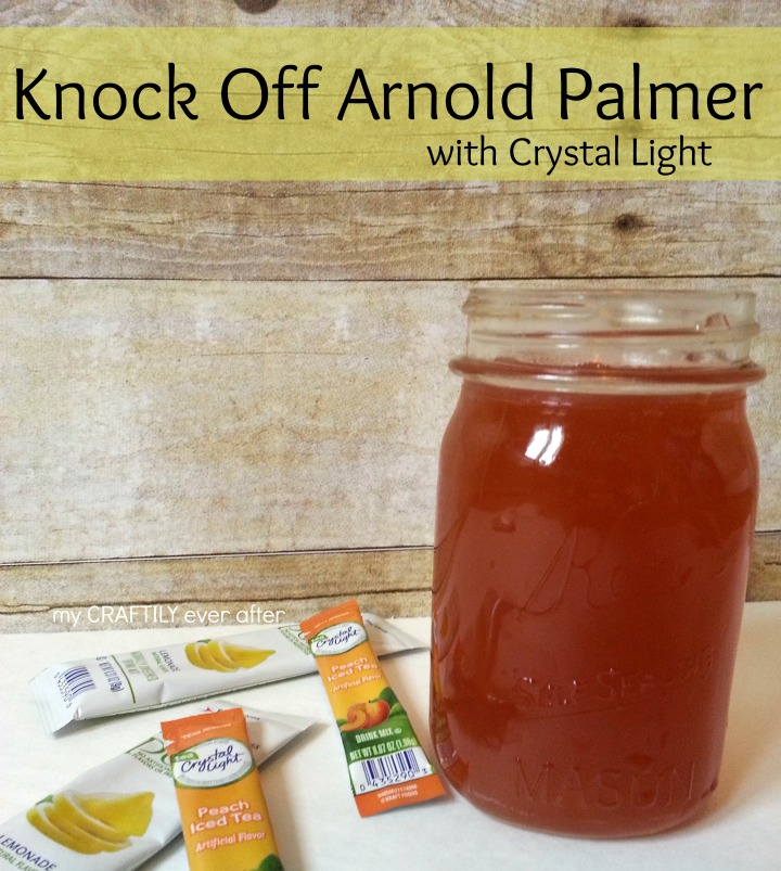 the BEST arnold palmer made easy with Crystal Light #shop