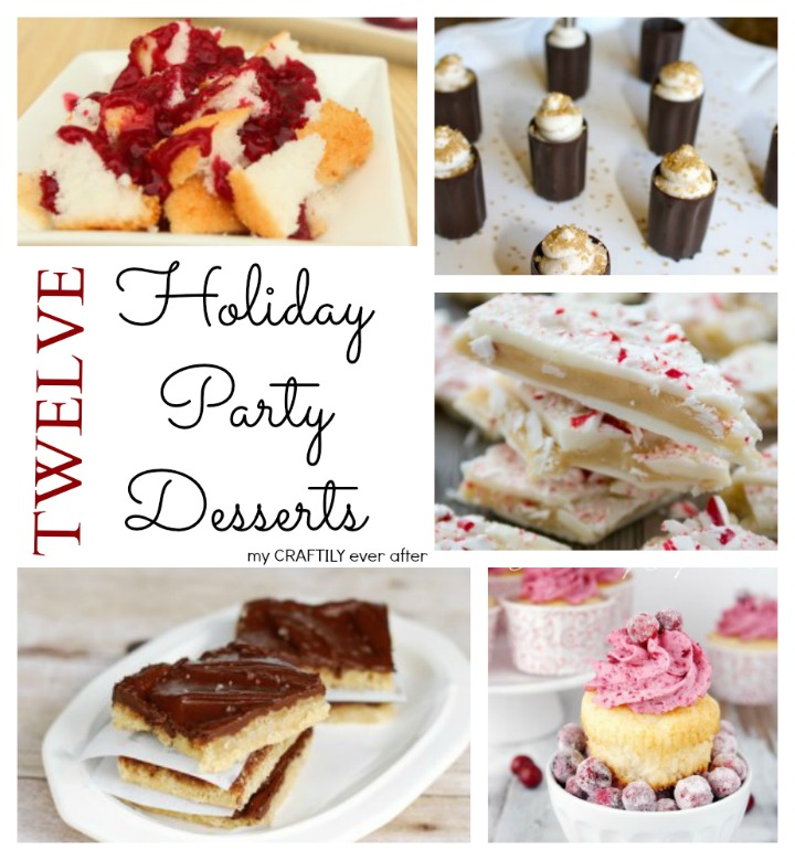 12 Holiday Party Desserts