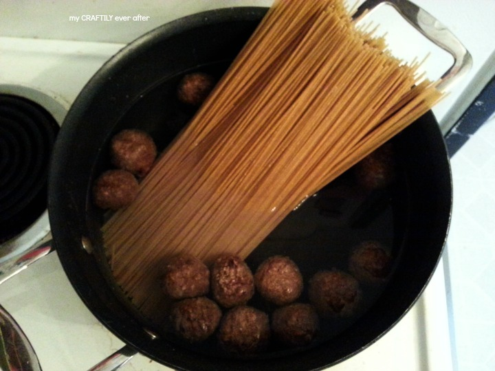 Boiling Meatballs to keep them juicy