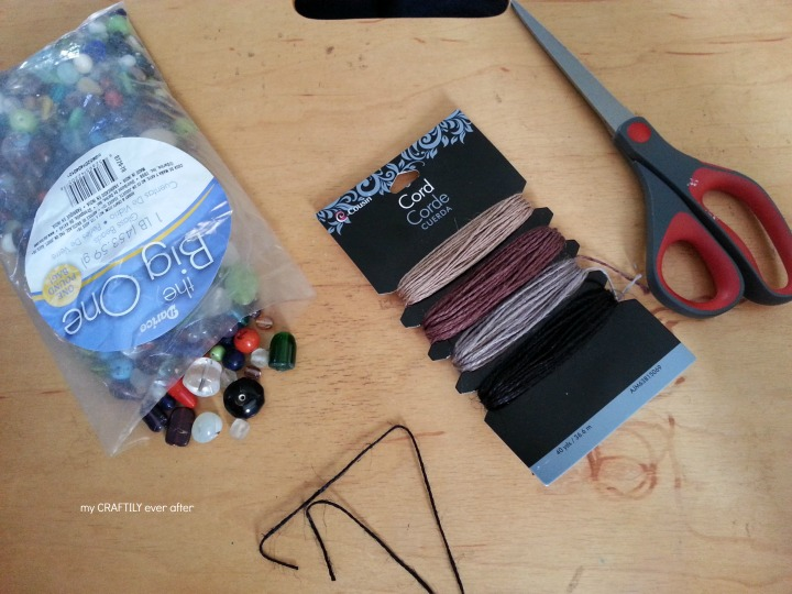 simple bead ornament supplies