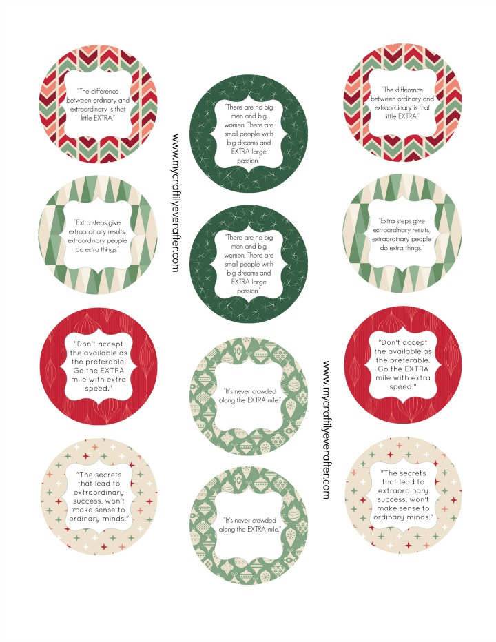 Printable Tags for Extra Gum Special Gifts