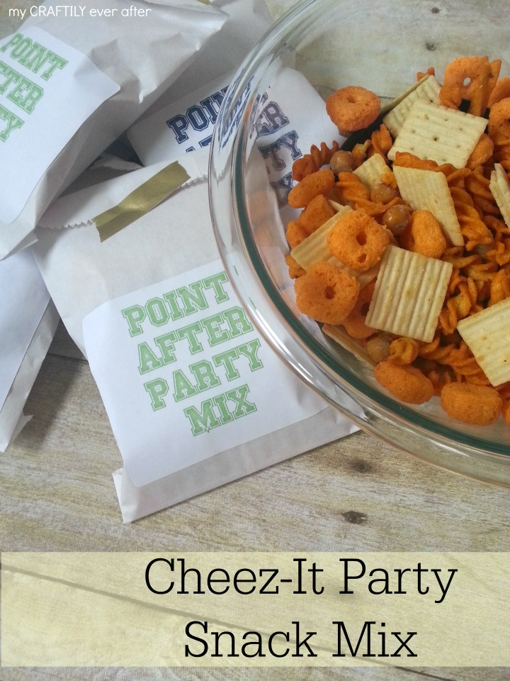 Cheez-It Party Snack Mix - This is perfect combination of cheesy, crunchy goodness!