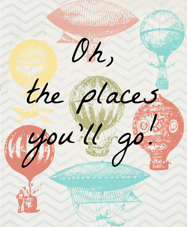 picture regarding Oh the Places You'll Go Printable called Dr. Seuss Printables - Craft Lightning - My Craftily At any time Immediately after