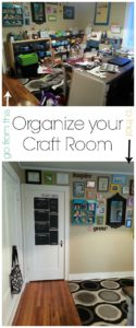organize your crafty room