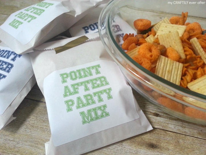 point after party mix with free printables