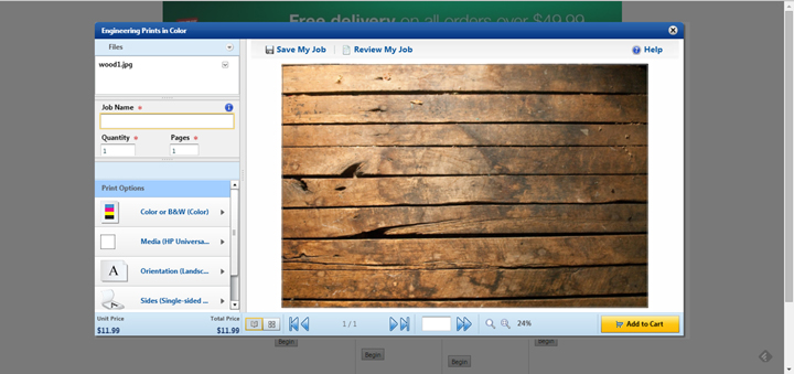 creating a fake wood background for photographs