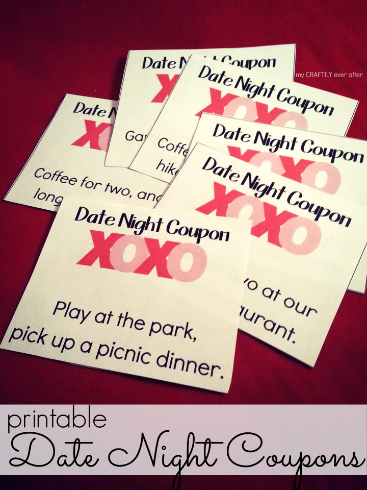 Printable Valentines Date Night Coupons  My Craftily Ever After