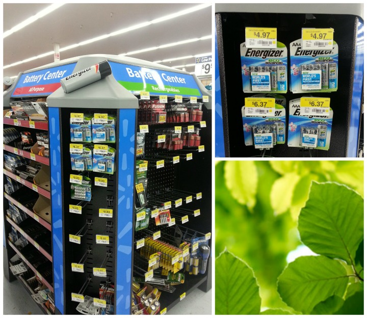 EcoAdvance batteries at walmart