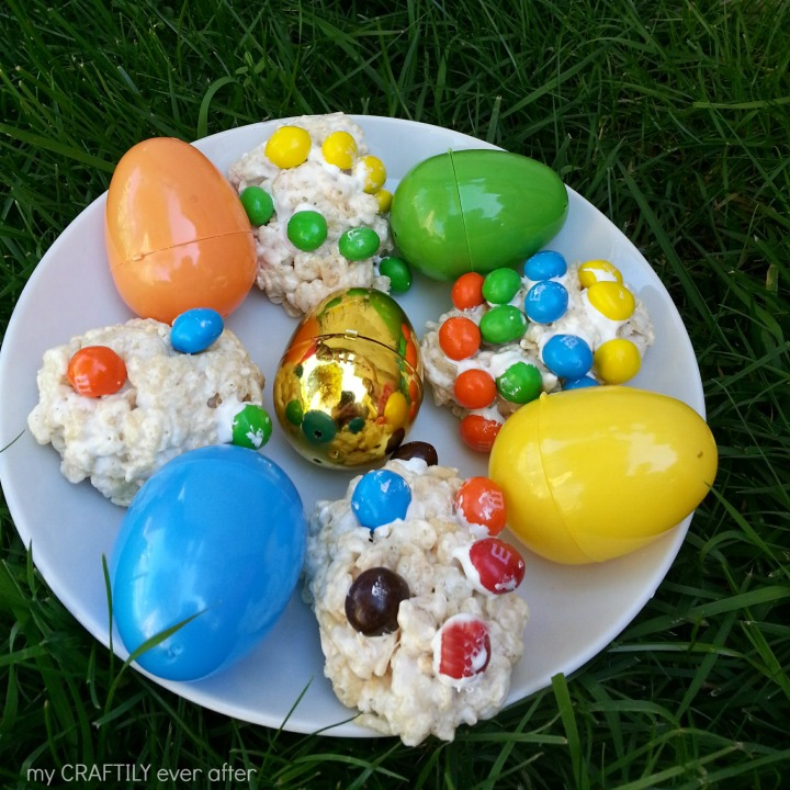 M&M's® Crispy Easter Egg Fun!
