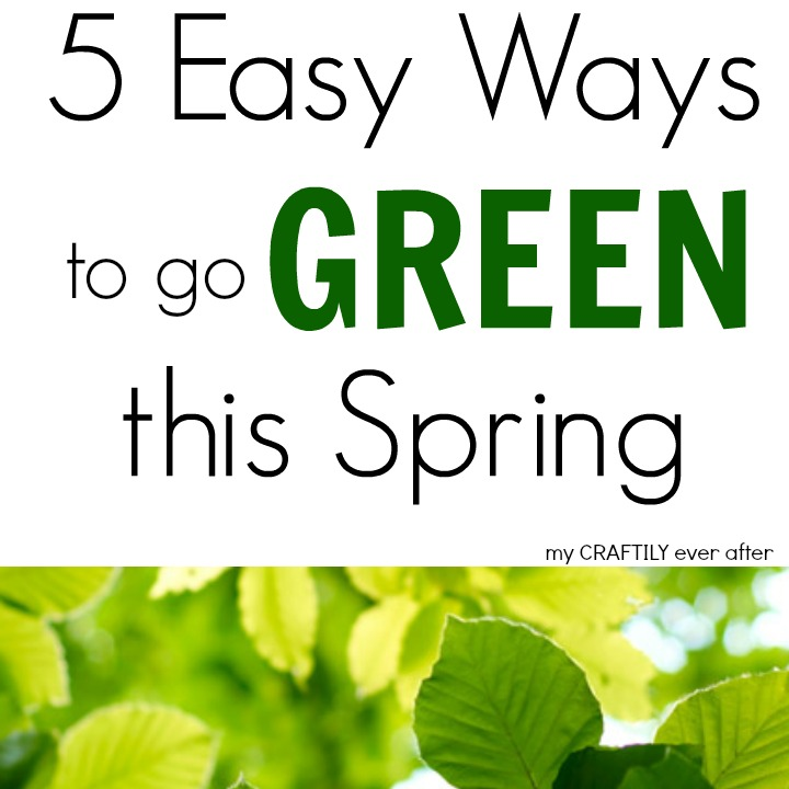 5 Easy Ways to go GREEN this Spring