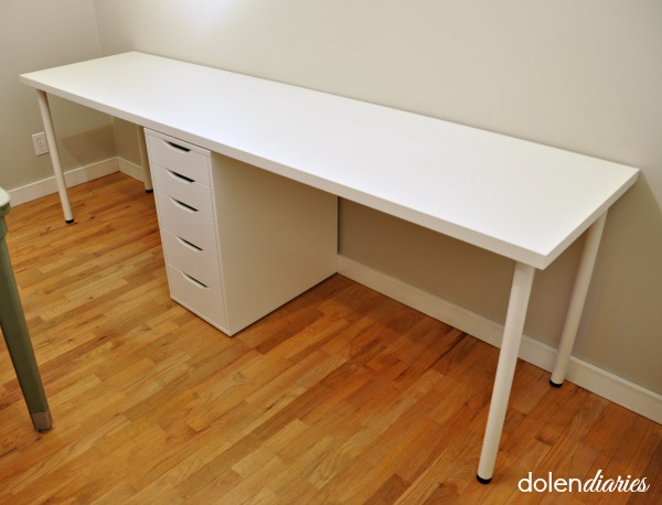 file cabinet with extra long desk