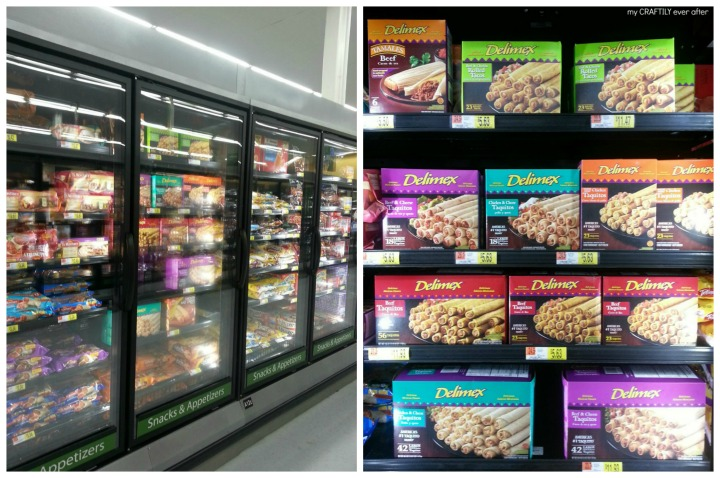 where to find frozenz delimex taquitos at @walmart