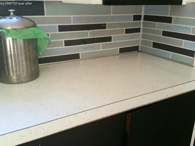 kitchen counters after a good scrubbing