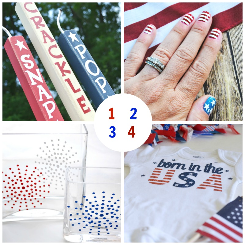 patriotic vinyl crafts