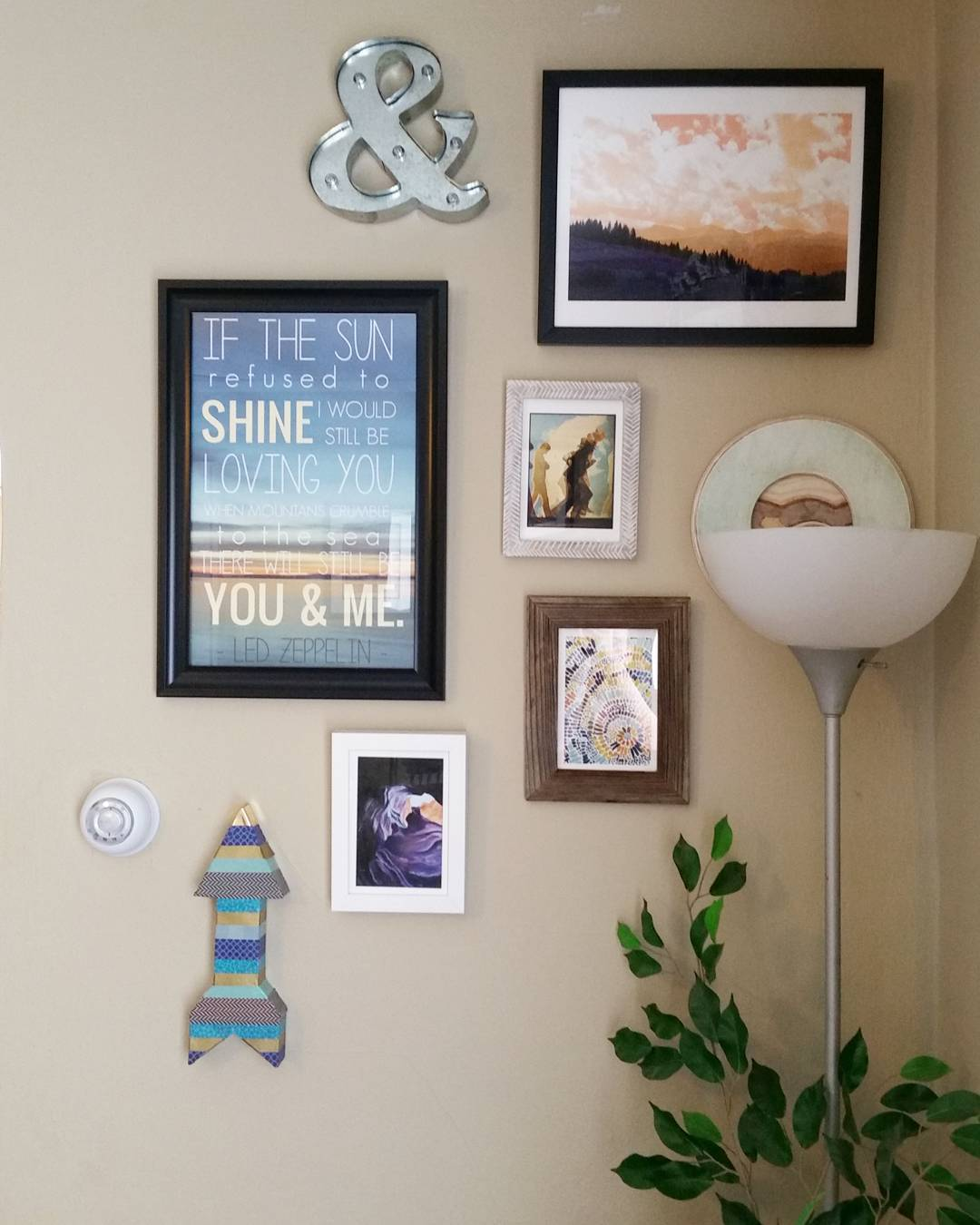 minted gallery wall my craftily ever after