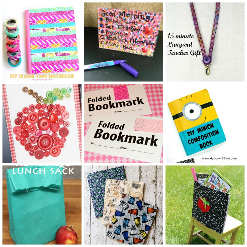 50 Quick Back to School Crafts - My Craftily Ever After