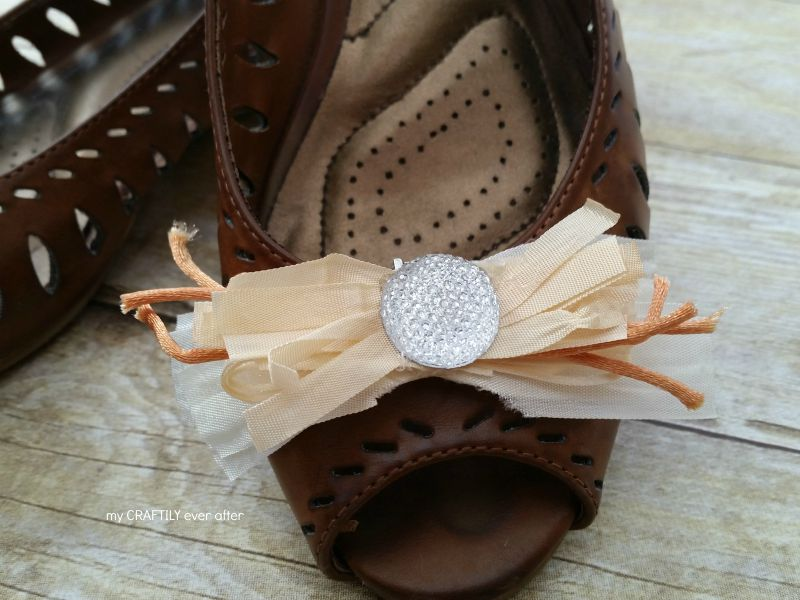 Fancy Shoe Clips – in less than an hour!