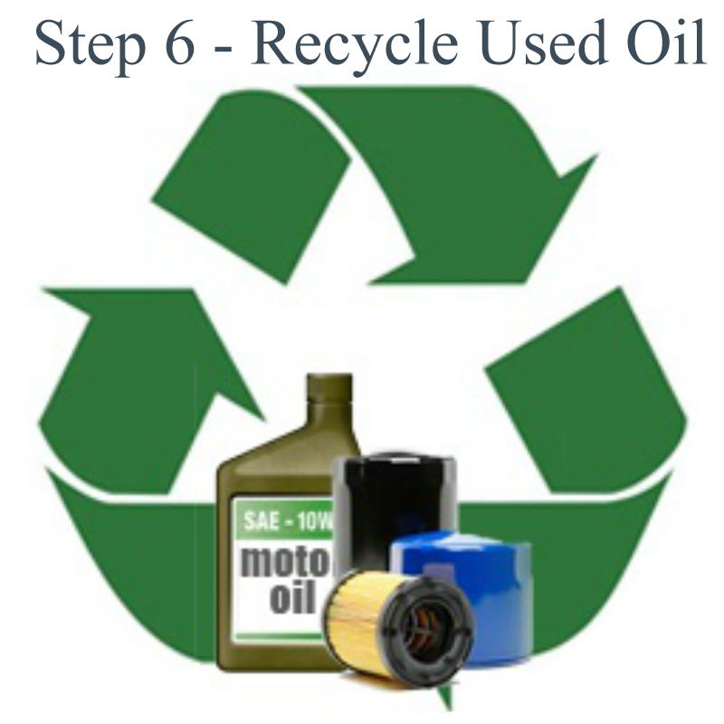 Recycle synthetic oil for Used motor oil disposal walmart