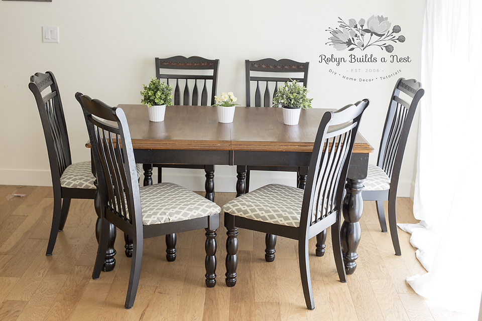 How To Recover Dining Room Chairs Awesome Recovering Dining Room Chairs  My Craftily Ever After 2017
